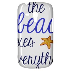 The Beach Fixes Everything Galaxy S3 Mini by OneStopGiftShop