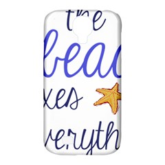 The Beach Fixes Everything Samsung Galaxy S4 Classic Hardshell Case (pc+silicone) by OneStopGiftShop