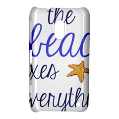 The Beach Fixes Everything Nokia Lumia 620 by OneStopGiftShop
