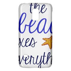 The Beach Fixes Everything Galaxy S5 Mini by OneStopGiftShop