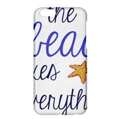 The Beach Fixes Everything Apple Iphone 6 Plus/6s Plus Hardshell Case by OneStopGiftShop