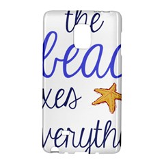The Beach Fixes Everything Galaxy Note Edge by OneStopGiftShop