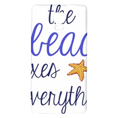The Beach Fixes Everything Galaxy Note 4 Back Case by OneStopGiftShop