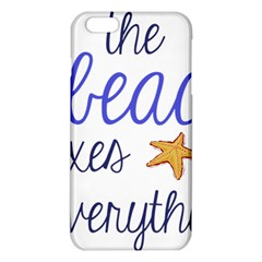 The Beach Fixes Everything Iphone 6 Plus/6s Plus Tpu Case by OneStopGiftShop