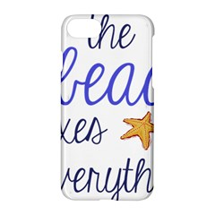 The Beach Fixes Everything Apple Iphone 7 Hardshell Case by OneStopGiftShop