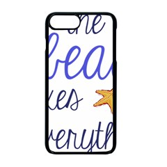 The Beach Fixes Everything Apple Iphone 7 Plus Seamless Case (black) by OneStopGiftShop