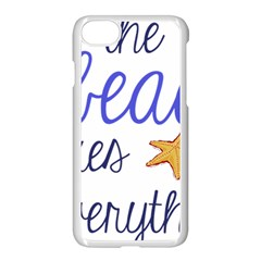 The Beach Fixes Everything Apple Iphone 7 Seamless Case (white) by OneStopGiftShop