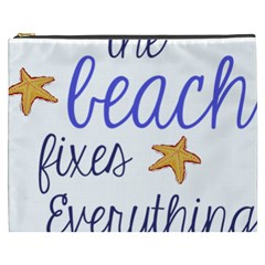 The Beach Fixes Everything Cosmetic Bag (xxxl)  by OneStopGiftShop