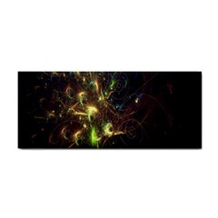 Fractal Flame Light Energy Cosmetic Storage Cases by Nexatart