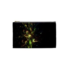 Fractal Flame Light Energy Cosmetic Bag (small)  by Nexatart