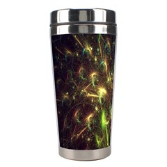 Fractal Flame Light Energy Stainless Steel Travel Tumblers