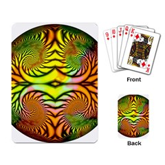 Fractals Ball About Abstract Playing Card by Nexatart