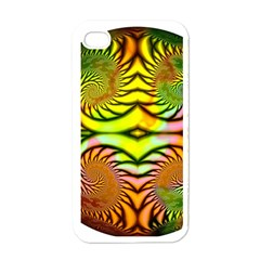 Fractals Ball About Abstract Apple Iphone 4 Case (white) by Nexatart