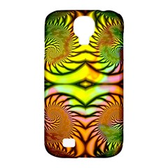 Fractals Ball About Abstract Samsung Galaxy S4 Classic Hardshell Case (pc+silicone) by Nexatart