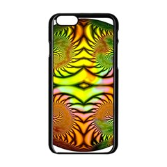 Fractals Ball About Abstract Apple Iphone 6/6s Black Enamel Case by Nexatart