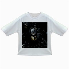 Fractal Sphere Steel 3d Structures Infant/toddler T Shirts by Nexatart