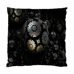 Fractal Sphere Steel 3d Structures Standard Cushion Case (two Sides) by Nexatart