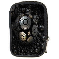 Fractal Sphere Steel 3d Structures Compact Camera Cases