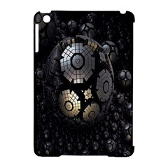 Fractal Sphere Steel 3d Structures Apple Ipad Mini Hardshell Case (compatible With Smart Cover)