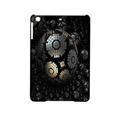 Fractal Sphere Steel 3d Structures Ipad Mini 2 Hardshell Cases