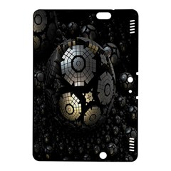 Fractal Sphere Steel 3d Structures Kindle Fire Hdx 8 9  Hardshell Case by Nexatart