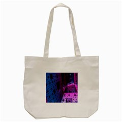 Fractals Geometry Graphic Tote Bag (cream) by Nexatart