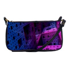 Fractals Geometry Graphic Shoulder Clutch Bags by Nexatart