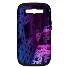 Fractals Geometry Graphic Samsung Galaxy S Iii Hardshell Case (pc+silicone)
