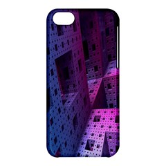 Fractals Geometry Graphic Apple Iphone 5c Hardshell Case by Nexatart