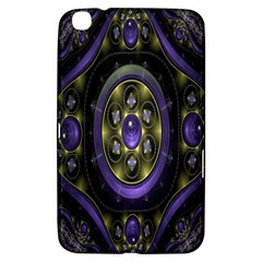 Fractal Sparkling Purple Abstract Samsung Galaxy Tab 3 (8 ) T3100 Hardshell Case  by Nexatart