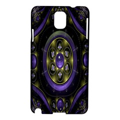 Fractal Sparkling Purple Abstract Samsung Galaxy Note 3 N9005 Hardshell Case