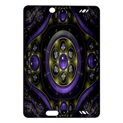 Fractal Sparkling Purple Abstract Amazon Kindle Fire Hd (2013) Hardshell Case