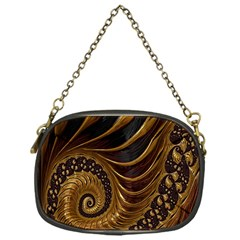 Fractal Spiral Endless Mathematics Chain Purses (one Side)  by Nexatart