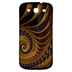 Fractal Spiral Endless Mathematics Samsung Galaxy S3 S Iii Classic Hardshell Back Case