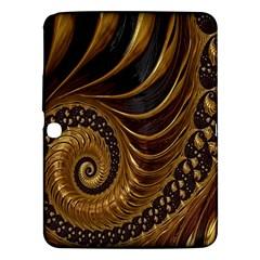 Fractal Spiral Endless Mathematics Samsung Galaxy Tab 3 (10 1 ) P5200 Hardshell Case  by Nexatart