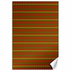Fugly Christmas Xmas Pattern Canvas 20  X 30   by Nexatart