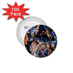 Frost Leaves Winter Park Morning 1 75  Buttons (100 Pack)  by Nexatart