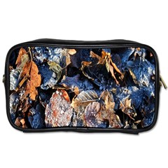 Frost Leaves Winter Park Morning Toiletries Bags 2 Side