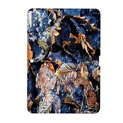 Frost Leaves Winter Park Morning Samsung Galaxy Tab 2 (10 1 ) P5100 Hardshell Case  by Nexatart