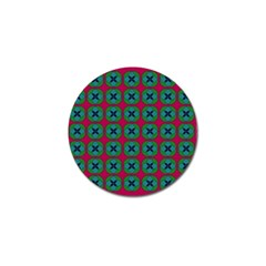 Geometric Patterns Golf Ball Marker (4 Pack)