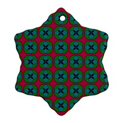 Geometric Patterns Ornament (snowflake) by Nexatart