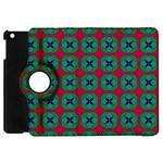 Geometric Patterns Apple iPad Mini Flip 360 Case Front