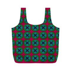 Geometric Patterns Full Print Recycle Bags (m)