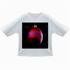 Glass Ball Decorated Beautiful Red Infant/toddler T Shirts