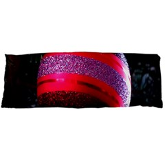Glass Ball Decorated Beautiful Red Body Pillow Case (dakimakura)