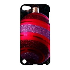 Glass Ball Decorated Beautiful Red Apple Ipod Touch 5 Hardshell Case