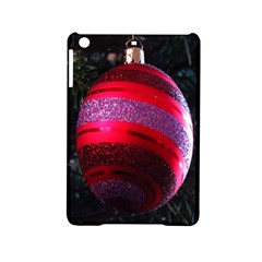 Glass Ball Decorated Beautiful Red Ipad Mini 2 Hardshell Cases by Nexatart