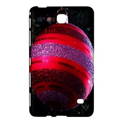 Glass Ball Decorated Beautiful Red Samsung Galaxy Tab 4 (8 ) Hardshell Case  by Nexatart