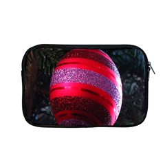 Glass Ball Decorated Beautiful Red Apple Macbook Pro 13  Zipper Case by Nexatart