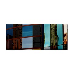 Glass Facade Colorful Architecture Cosmetic Storage Cases by Nexatart